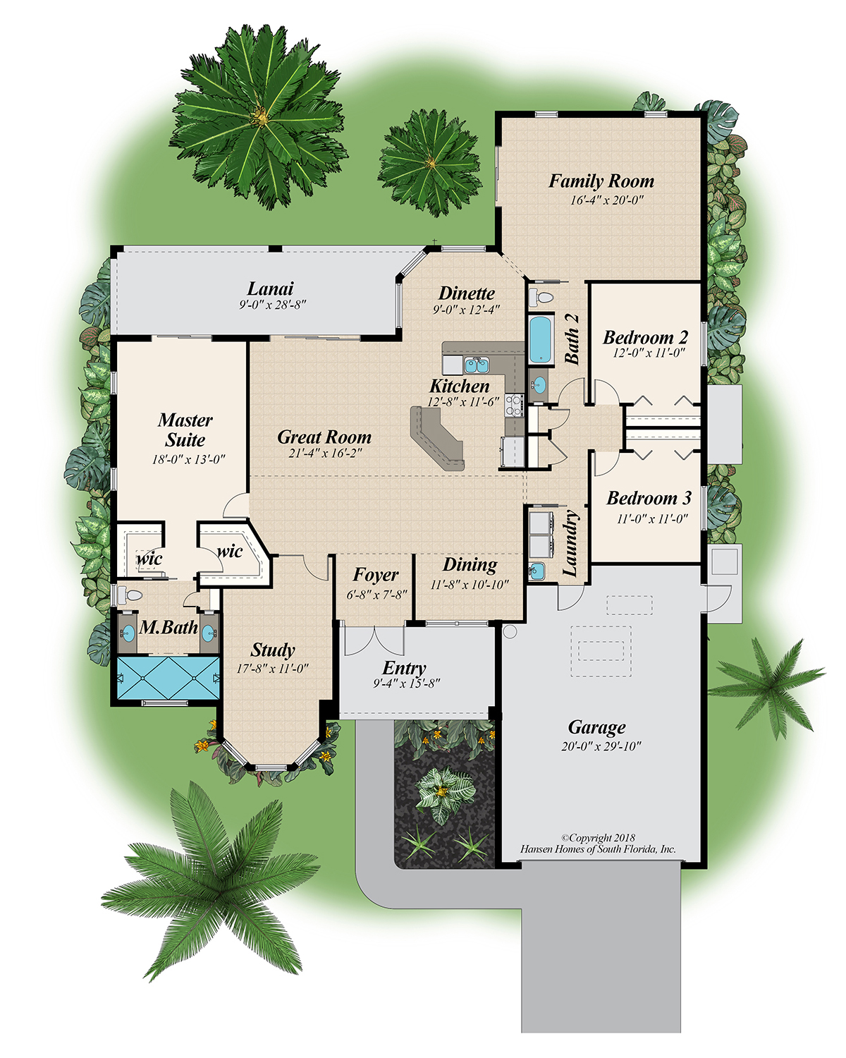 The Slater Family Room Home Plan Floor Plans