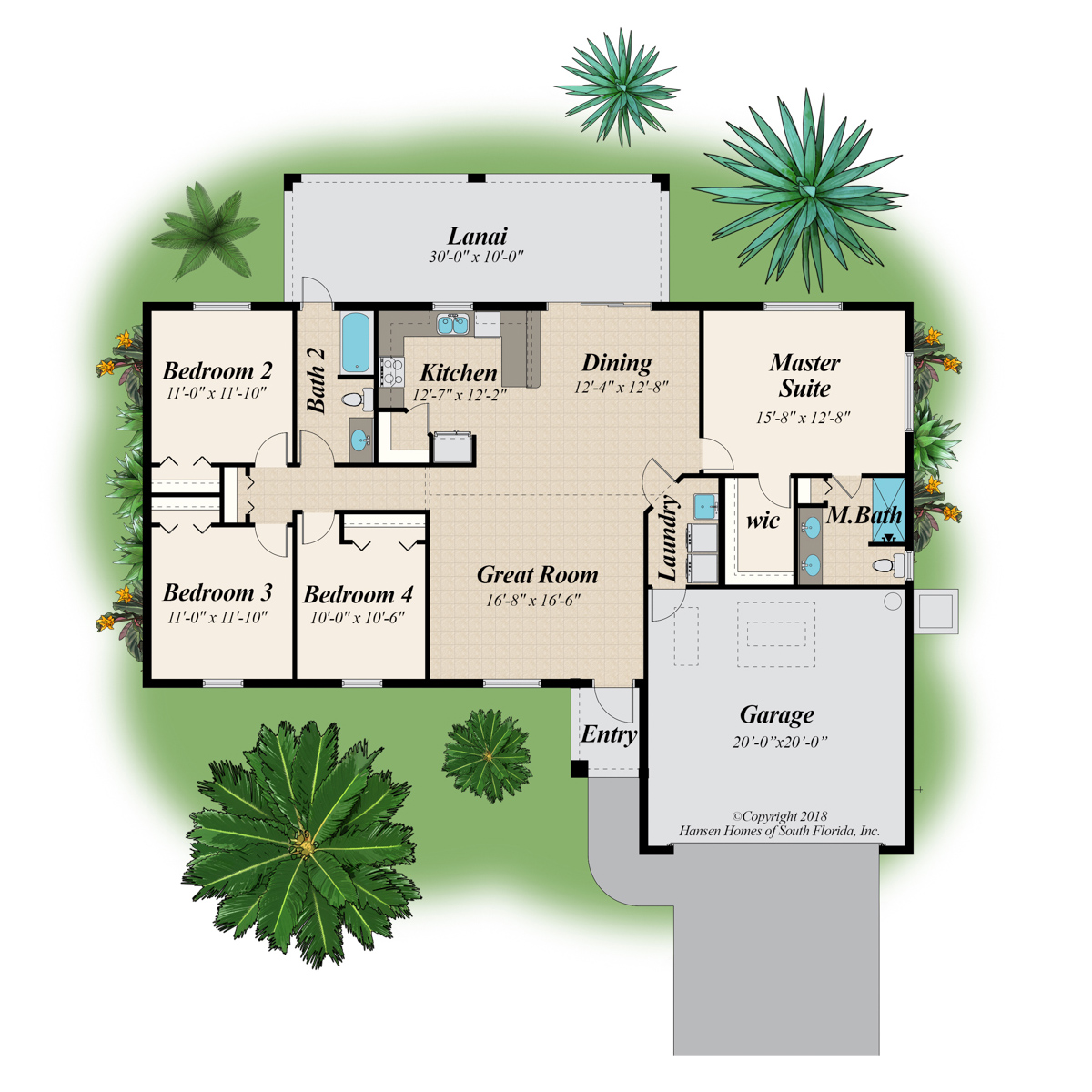 The Cottrell 4 Standard Home Plan Floor Plans